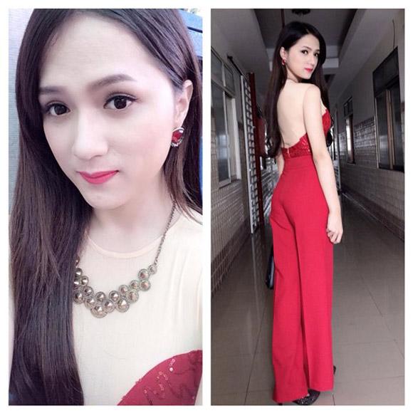 Chọn váy tôn nét nữ tính như Hương Giang Idol 19