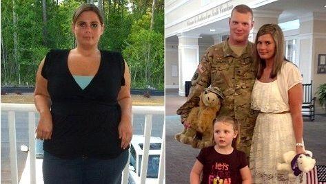 Người phụ nữ giảm 50kg chào mừng chồng trở về từ chiến trường 11