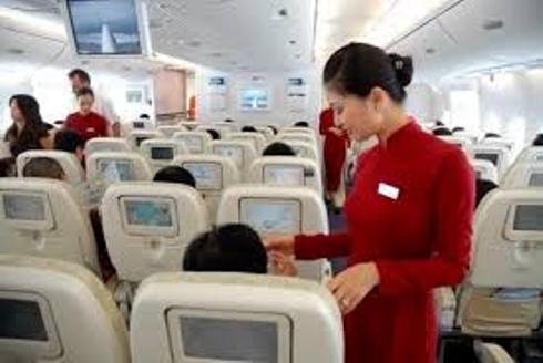 Bắt quả tang hành khách Trung Quốc ăn cắp đồ trên máy bay 5