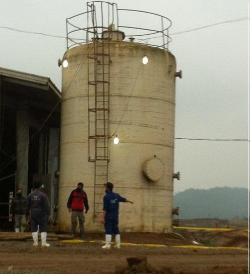 Bảo vệ công ty sữa TH True Milk chết ngồi trong bể nước 5