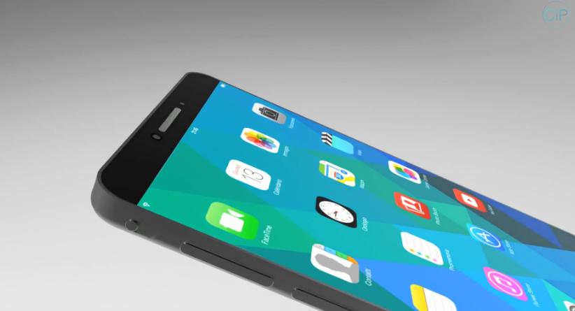 Tuyệt đỉnh concept iPhone Phablet không viền màn hình 6