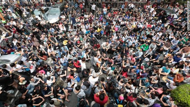 Sinh viên Đài Loan chiếm cơ quan lập pháp, biểu tình chống chính phủ 5