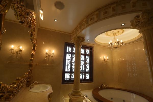 Phòng ngủ Tổng thống, nhà tắm đế vương của đại gia Việt 7