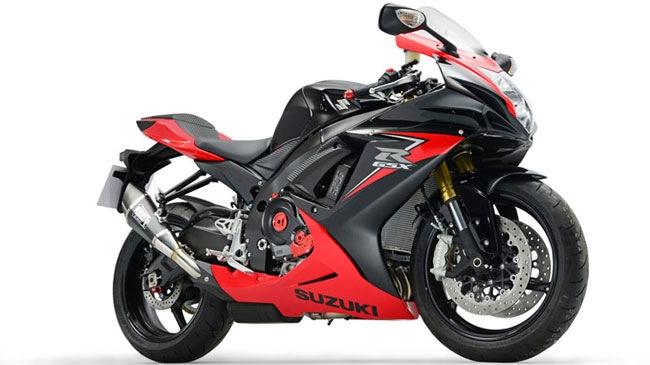 Hình ảnh Suzuki ra mắt phiên bản limited của GSX-R750 số 1