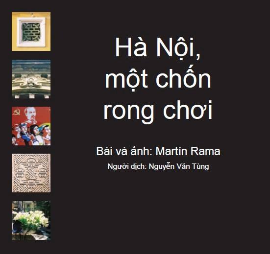 Hà Nội, một chốn rong chơi 1