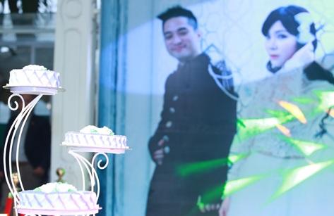 Rapper Mr. A rạng rỡ bên cô dâu trong ngày cưới 8