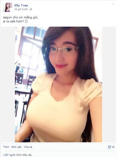 Elly Trần hot girl 6