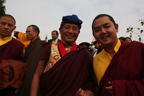Hình ảnh Đức Pháp vương Gyalwang Drukpa hiện thân của Đức Phật Quan Âm số 11