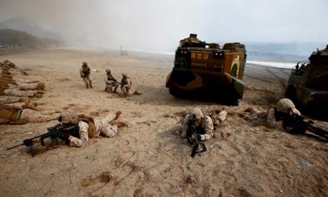 Triều Tiên sắp tập trận bắn đạn thật tại khu vực tranh chấp 2 miền 6