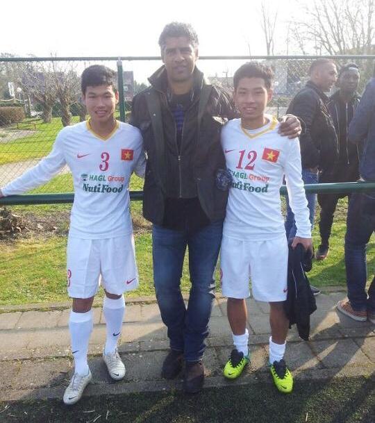 U19 Việt Nam đá giao hữu với Liên quân JMG Bỉ và JMG Ghana 5