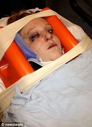 Từ chối nối lại với tình cũ, bà mẹ trẻ bị hành xác dã man 5