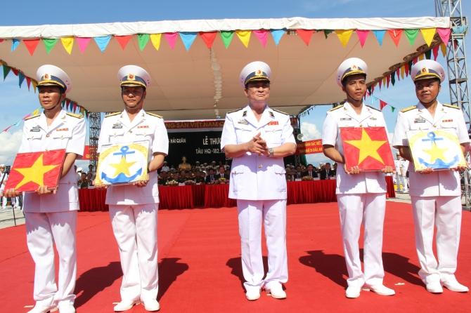 Cận cảnh lễ thượng cờ cấp quốc gia tàu ngầm Kilo HQ-182 và HQ-183 6