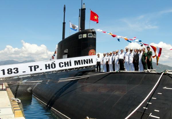 Cận cảnh lễ thượng cờ cấp quốc gia tàu ngầm Kilo HQ-182 và HQ-183 12