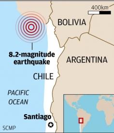 Nhật Bản xuất hiện sóng thần sau động đất 8,2 độ Richter tại Chile 6