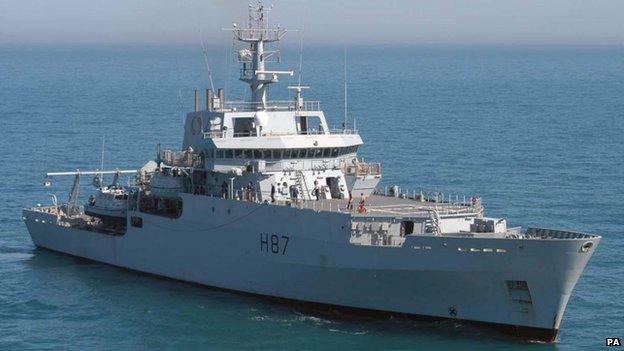 """Tàu HMS Echo đến vùng Trung Quốc bắt tín hiệu """"ping"""" 6"""