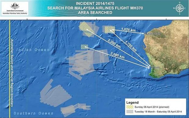MH370 đã bay vòng quanh Indonesia để tránh bị radar phát hiện 5