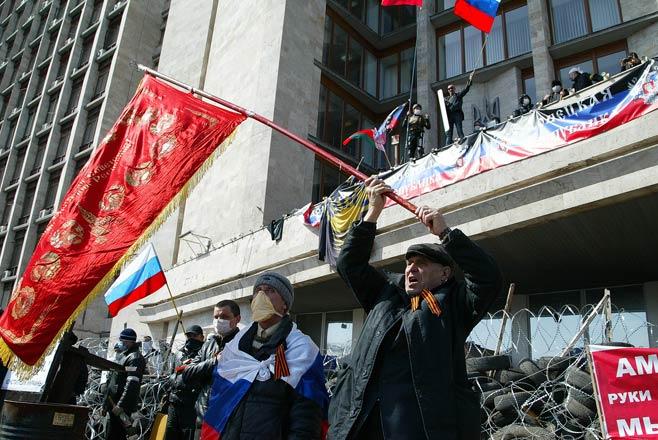 Người biểu tình Ukraine đề nghị Nga tham gia gìn giữ hòa bình 6