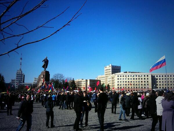 Hai thành phố lớn ở miền Đông Ukraine tuyên bố độc lập 6