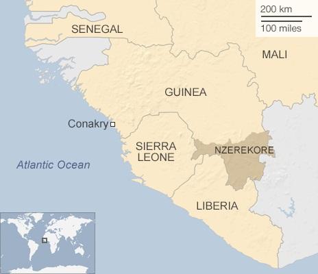 Guinea: Hơn 100 trường hợp tử vong vì virus Ebola 1