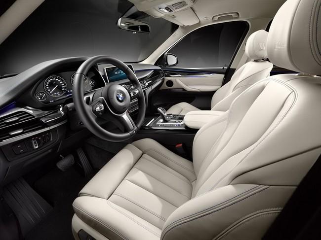 BMW X5 eDrive : 3,8l xăng cho 100 km 6