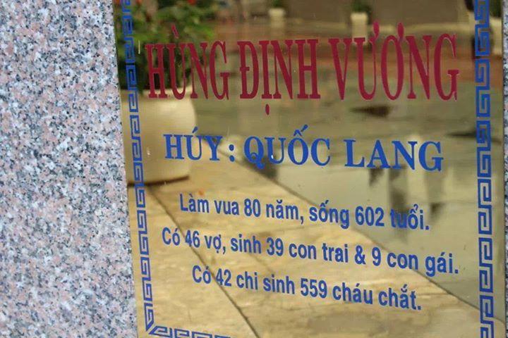 Vua Hùng sống gần 700 tuổi