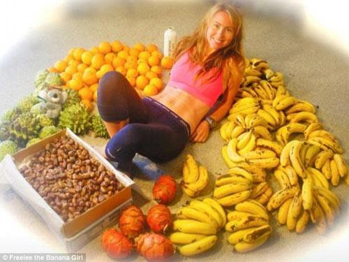 Sốc vì bà mẹ trẻ ăn 51 quả chuối mỗi ngày để giảm cân 7