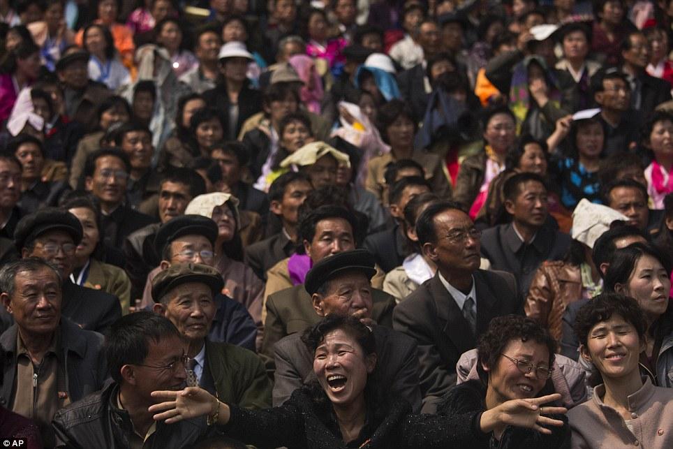 Những hình ảnh thú vị về giải điền kinh quốc tế đầu tiên tại Triều Tiên 15