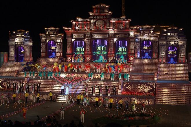 Lễ khai mạc Festival Huế 2014 hoành tráng và ấn tượng 5