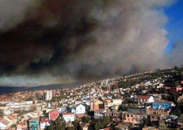 Chile: Cháy rừng khủng khiếp, 1000 ngôi nhà bị 'nuốt gọn' 8