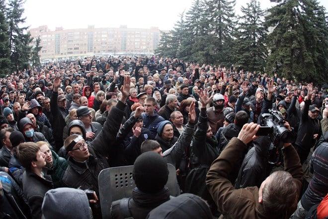 Ảnh bạo loạn tại Ukraine 14