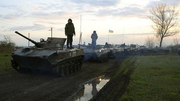 Kiev bắt đầu khởi động quân đội ở đông Ukraine 6