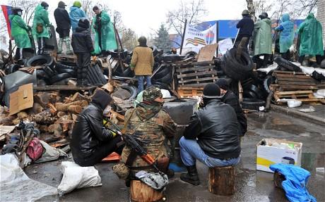 Ảnh bạo loạn tại Ukraine 16