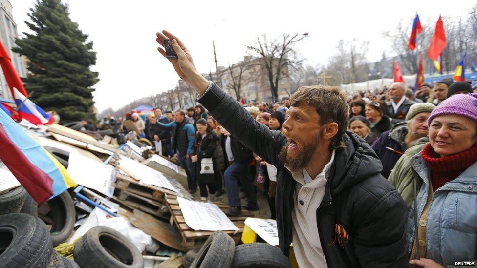Ảnh bạo loạn tại Ukraine 7