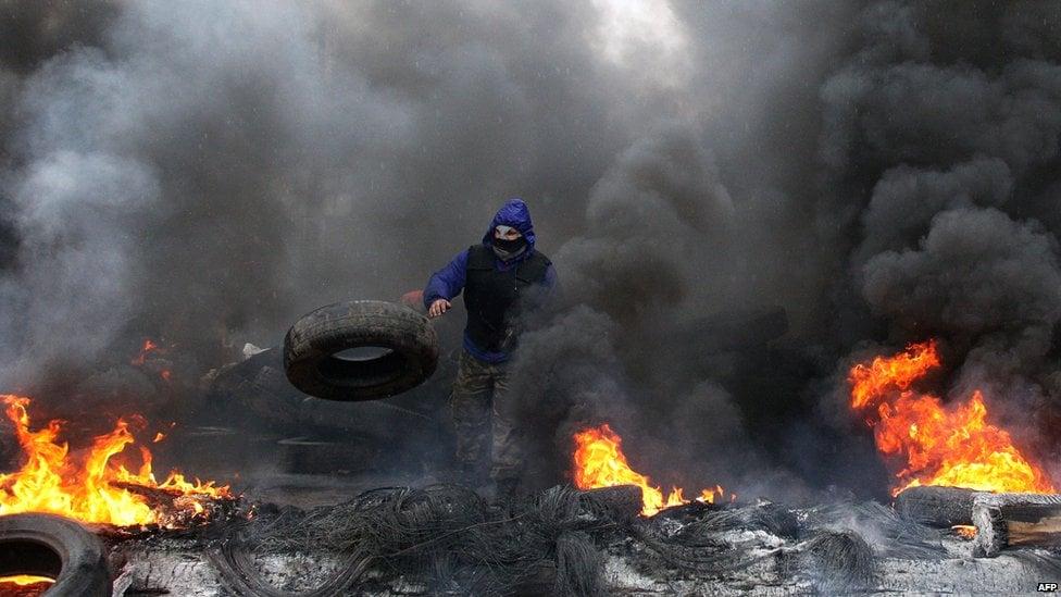 Ảnh bạo loạn tại Ukraine 6