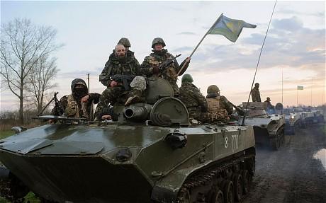 Quân đội Ukraine rầm rộ tiến về phía Đông 6