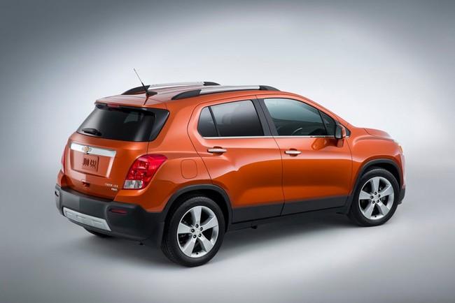 Chevrolet Trax 2015 - Tham chiến thị trường mini SUV 6