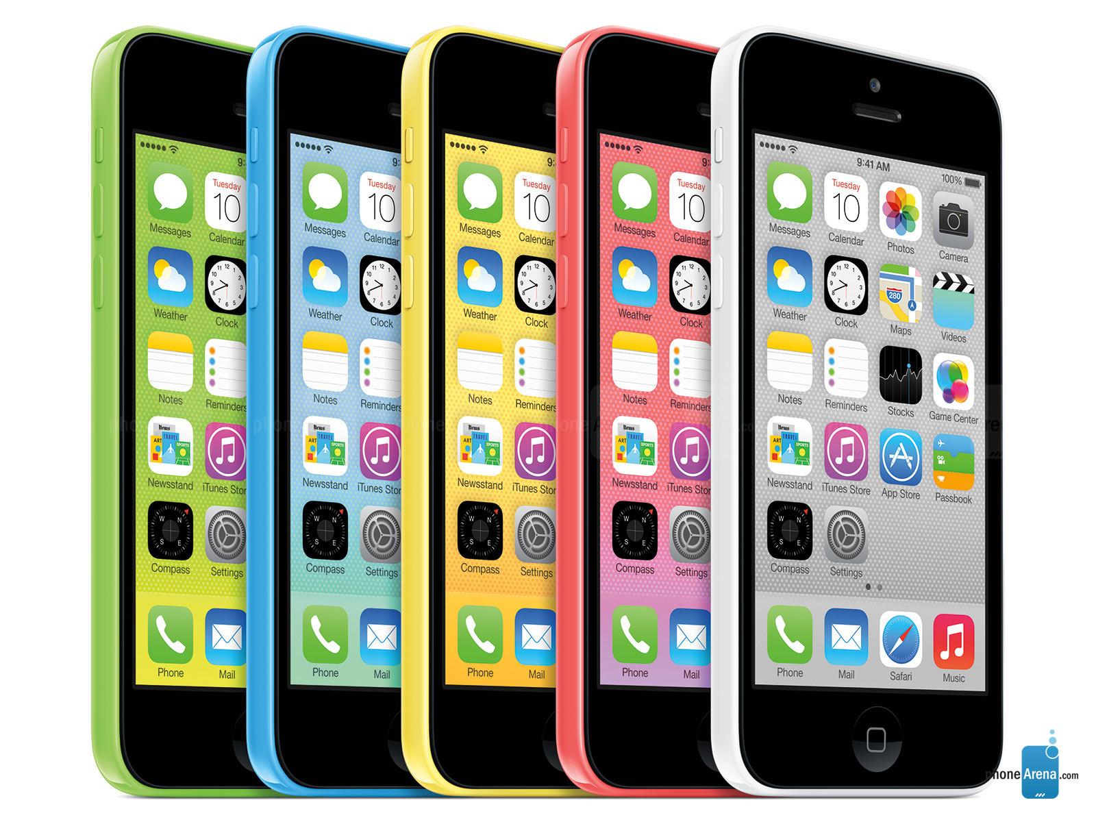iPhone 5c bản 8GB bán ra ở nhiều nước Châu Âu 5