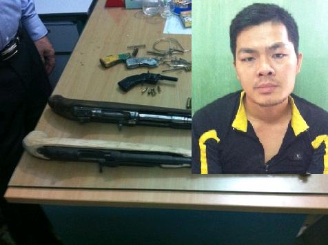 Hải Phòng: Bắt quả tang đang bán súng AK giá 10 triệu đồng 4