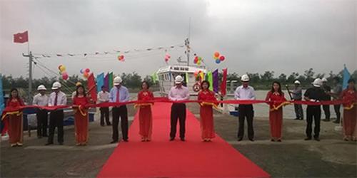 Bàn giao tàu cá vỏ thép cho ngư dân Nam Định 6
