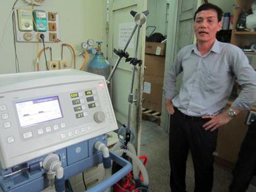Hình ảnh Bệnh viện Bạch Mai nói lại chuyện máy thở Bộ cấp hỏng số 3