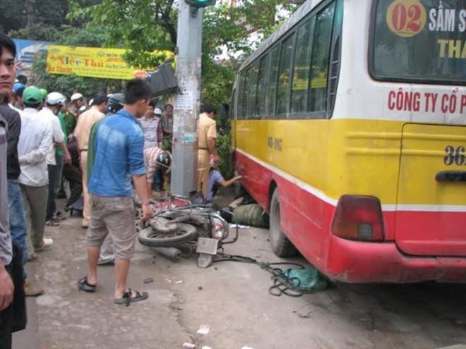 Hiện trường vụ tai nạn 2 người chết ở Thanh Hóa 6