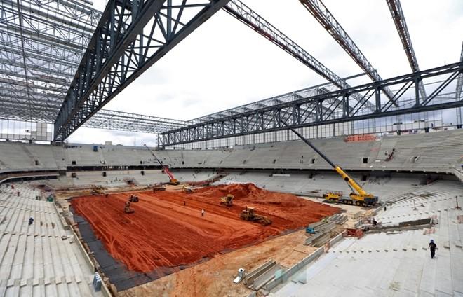 SVĐ tổ chức World Cup tại Brazil vẫn còn ngổn ngang 14