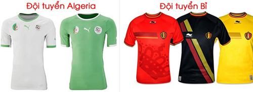 Ngắm mẫu áo của 32 đội tuyển tham dự World Cup 2014 21