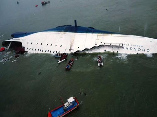 Chìm phà Hàn Quốc: Nữ thuyền phó lần đầu cầm lái 8