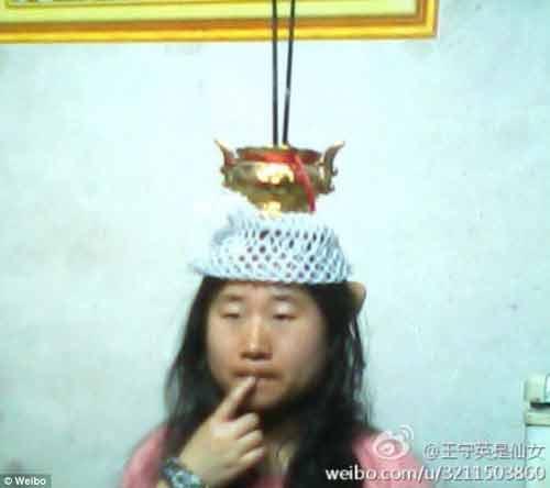 Cận cảnh cô gái xấu xí tự nhận mình là...tiên nữ Trung Quốc 8