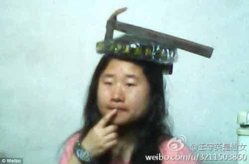 Cận cảnh cô gái xấu xí tự nhận mình là...tiên nữ Trung Quốc 9