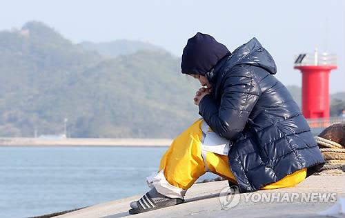 Rơi nước mắt với những hình ảnh bi thương từ vụ chìm phà Sewol 7