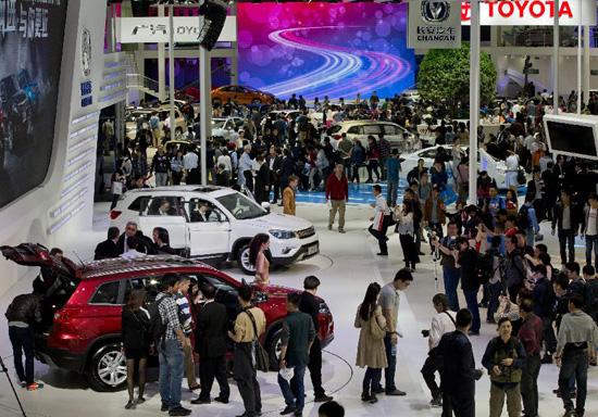 Triển lãm xe hơi Bắc Kinh 2014 chuẩn bị khai cuộc 5