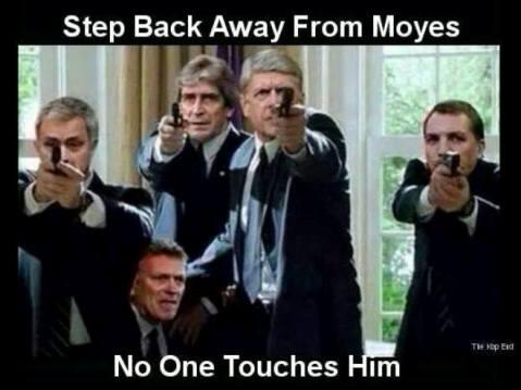 Fan Arsenal, Liverpool, Chelsea khóc thảm thiết ngày Moyes ra đi 9