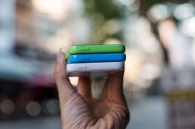 iPhone 5c bản 5GB xuất hiện tại Việt Nam 8